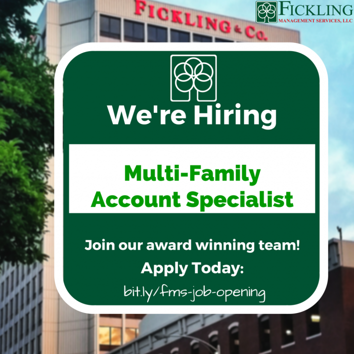 Multi-Family Account Specialist