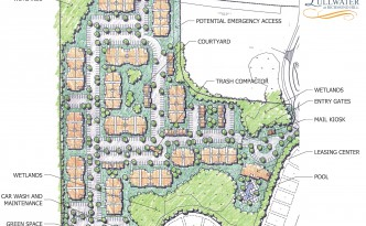 Richmond Hill Site Plan Render