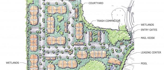 Richmond Hill Site Plan Render