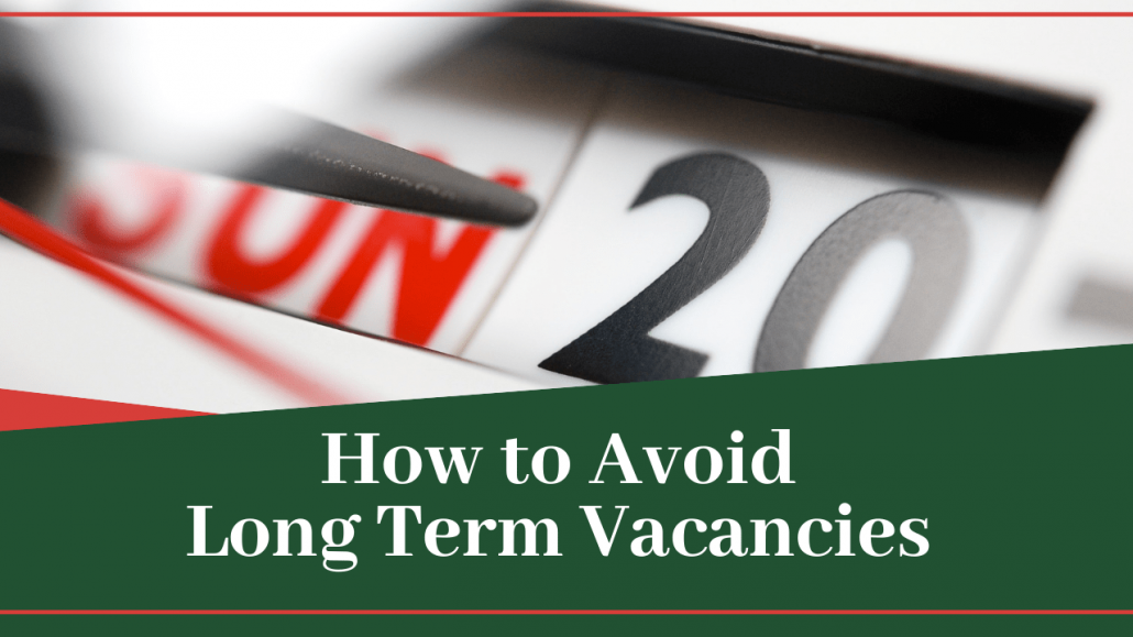 How to Avoid Long Term Vacancies - Warner Robins Property Management - Article Banner